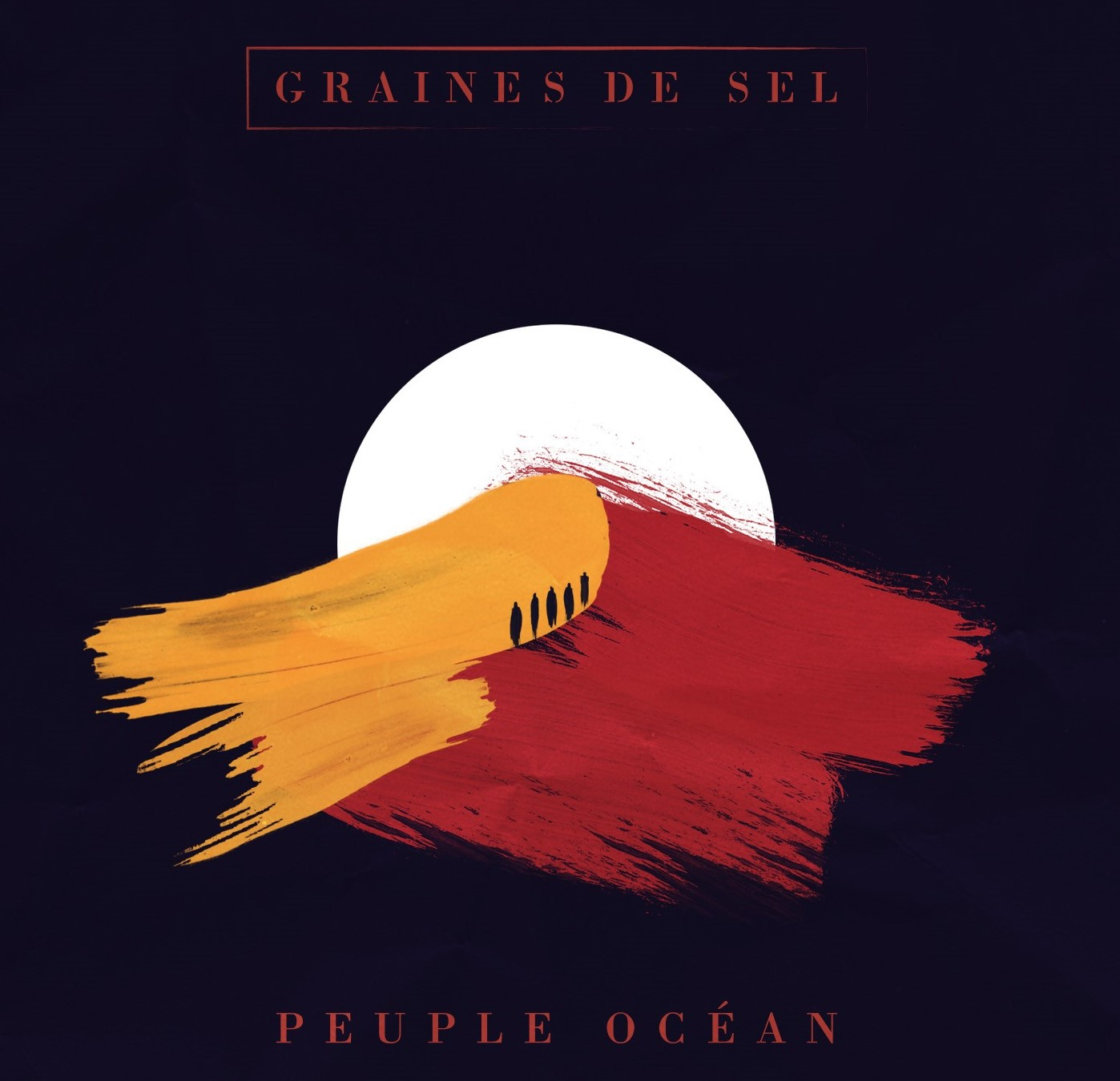 Nouvel album – Peuple Océan – Présentation du visuel