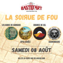 2e annonce pour 2020: Le Festival Bastid'Art avec… Les Ogres de Barback